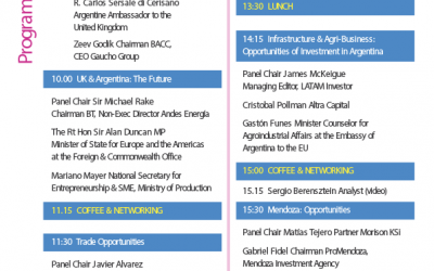 Programme – 8th BACC Business Networking –